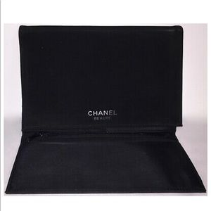 Chanel Beaute Trifold Brush & Cosmetic Clutch Bag